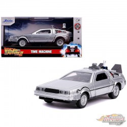 Back To The Future II Time Machine Dmc Delorean - Hollywood Rides 1/32 - Jada  - 30541  Passion Diecast