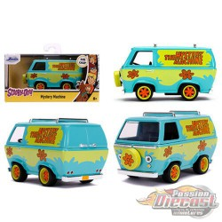 The Mystery Machine Van - Scooby Doo  - Hollywood Rides 1/32 - Jada  - 32040  - Passion Diecast