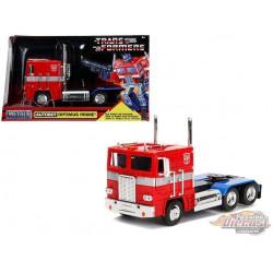 G1 Optimus Prime - Autobot COE Semi-Truck - Transformers - Jada 1:24 -  99524 - Passion Diecast