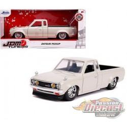 "Datsun 620 Pickup Truck  White   ""JDM Tuners"" - Jada 1/24 - 30444 -  Passion Diecast"