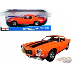 1971 Chevrolet Camaro Z28  Orange  - Maisto 1/18 - 31131 OR