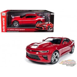 2017 Chevrolet Camaro Yenko Coupe Red - Auto World / American Muscle 1/18 - AW246 -  Passion Diecast