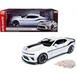 2018 Chevrolet Camaro Yenko STAGE II  White - Auto World / American Muscle 1/18 - AW253 -  Passion Diecast