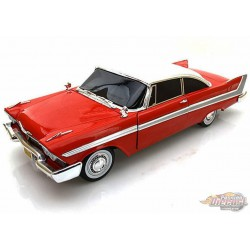 1958 Plymouth Fury Christine  - 1/18 Auto World  AWSS102  -  Passion Diecast