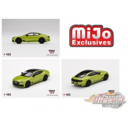 Bentley Continental GT Limited Pikes Peak Edition -  MINI GT 1:64 - Mijo Exclusive - MGT00163 - Passion Diecast