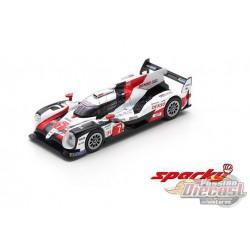 Toyota TS050 Hybrid No. 8 Toyota Gazoo Racing Winner 24Hr. Le Mans 2019 - SPARKY 1/64 - Y139B - Passion Diecast