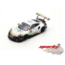 Porsche 911 RSR No.91 Porsche GT Team 2nd LMGTE Pro class 24H Le Mans 2019 -  SPARKY 1/64 - Y140B - Passion Diecast