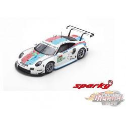 Porsche 911 RSR No.93 Porsche GT Team 3rd LMGTE Pro class 24H Le Mans 2019 - SPARKY 1/64 - Y141B - Passion Diecast