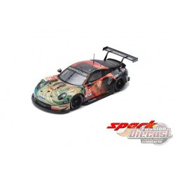Porsche 911 RSR No.56 Team Project 1 Winner LMGTE Am class 24H Le Mans 2019 - SPARKY 1/64 - Y142B - Passion Diecast