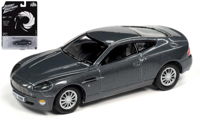 Aston Martin Vanquish James Bond 007 Die Another Day Johnny Lightning 1 64 Jlsp096 Passion Diecast