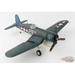 Vought F4U Corsair - USN VF-17 Jolly Rogers, White 29, Ira Kepford, 1944 - Hobby Master 1/48 HA8219 - Passion Die