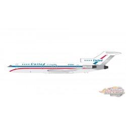 United Boeing B727-200 Friendship N7620U - Gemini 200 - G2UAL346 - Stand -  Passion Diecast