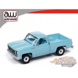1979 Chevrolet Scottsdale - Blue - Hemmings Muscle - Auto World 1/64 - AWSP048 A -  Passion Diecast