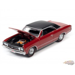 1967 Chevrolet Chevelle SS - Red - Hemmings Muscle - Auto World 1/64 - AWSP051 A  - Passion Diecast
