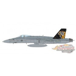 McDonnell Douglas F/A-18C Hornet - Swiss Air Force 11 Staffel Tigers, 2020 - Hobby Master 1/72 HA3598 - Passion Diecast