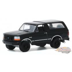1994 Ford Bronco  - Black  Bandit  Series 23,  1-64 Greenlight 28030 F  Passion Diecast
