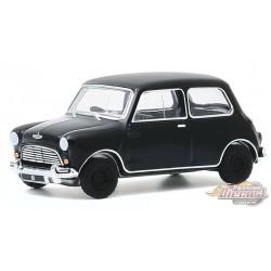 1960 Austin Mini Cooper MkI - Black  Bandit  Series 23,  1-64 Greenlight 28030 A Passion Diecast