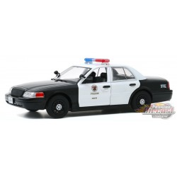 2008 Ford Crown Victoria Police LAPD - The Rookie TV Series - Greenlight 1/24 - 84111 -  Passion Diecast