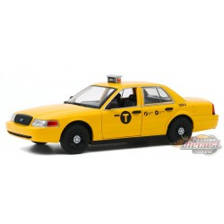 2008 Ford Crown Victoria Taxi - John Wick: Chapter 2  - Greenlight 1/24 - 84113 - Passion Diecast