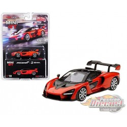 McLaren Senna Orange -  MINI GT 1:64 - Mijo Exclusive - MGT00018  - Passion Diecast