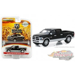 2018 Ram 2500 Big Horn Harvest Edition Black/Silver - Greenlight 1/64 Hobby Exclusive - 30047 - Passion Diecast