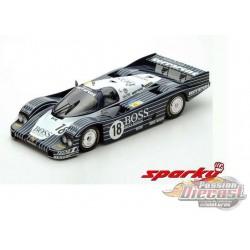 Porsche 956 No.18 7th 24H Le Mans 1983 J Lässig - A. Plankenhorn - D. Wilson - SPARKY 1/64 - Y180B - Passion Diecast
