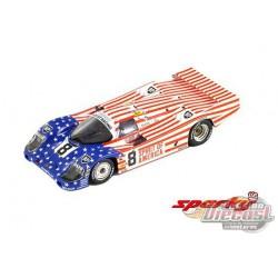 Porsche 956 No.8 3rd 24H Le Mans 1986 G. Follmer - J. Morton - K. Miller - SPARKY 1/64 - Y176B - Passion Diecast