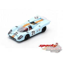 Porsche 917 K No.21 24H Le Mans 1970 P. Rodríguez - L. Kinnunen - SPARKY 1/64 - Y143B - Passion Diecast