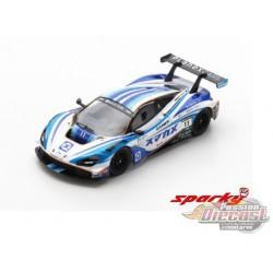 McLaren 720S GT3 No.11 PLANEX SMACAM RACING Suzuka 10H 2019 M. Häkkinen - K. Kubota - H. Ishiura - SPARKY 1/64 - Y162B