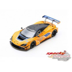 McLaren 720S GT3 2019 Orange - SPARKY 1/64 - Y175B - Passion Diecast