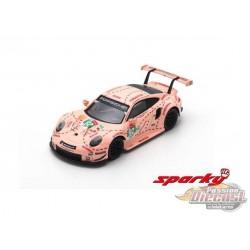 Porsche 911 RSR No.92 Porsche GT Team Winner LMGTE Pro class 24H Le Mans 2018  - SPARKY 1/64 - Y122B - Passion Diecast