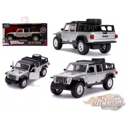 2020 Jeep Gladiator Silver - Fast & Furious 9  -  Jada 1:32  - 32031 - Passion Diecast