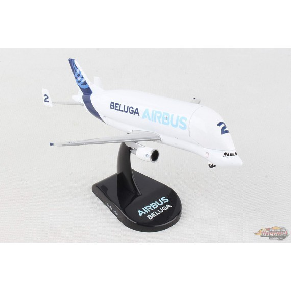 Airbus A300-600ST Beluga - POSTAGE STAMP 1/400 PS5822-1 - Passion Diecas