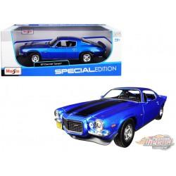 1971 Chevrolet Camaro Z28  Blue  - Maisto 1-18 - 31131 BL  - Passion Diecast