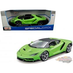 Lamborghini Centenario Green  Maisto  1-18 - 31386 GR  -  Passion Diecast