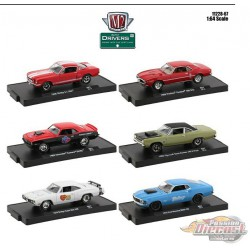 Auto-Drivers Release 67  Assortment of 6 - M2 Machines 1-64 - 11228-67 -  Passion Diecast