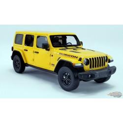 2019 Jeep Wrangler Rubicon - Hellayella - GT Spirit 1/18 - US026  -  Passion Diecast