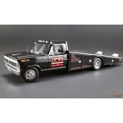 1970 Ford F-350 Ramp Truck,FoMoCo Parts  Black - ACME 1/18 -  A1801408 - Passion Diecast