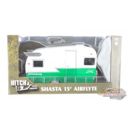 Hitch and Tow Series 4 - Shasta 15 Airflyte - White and Black GREENMACHINE GL-18440BGR