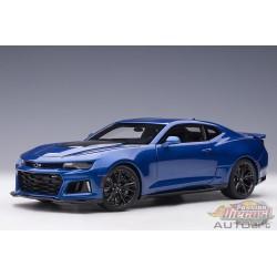 Chevrolet Camarao ZL1 2017 - Hyper Metallic Blue - Autoart 1-18 - 71209 -  Passion Diecast