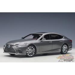 Lexus LS 500h Sonic White Metallic Black Interior - AUTOart 1/18 - 78866  - Passion Diecast