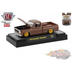 1975 Chevrolet Silverado 'The Brown Bagger' -  M2 Auto Trucks 1:64 - Mijo Exclusive - 31500 MJS29 -  Passion Diecast