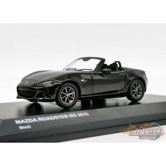 Kyosho 1//64 Mazda ROADSTER RS 2015 Red Finished Product