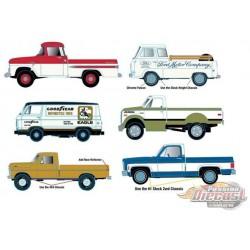 Auto-Trucks Release 63  Assortment of 6 - M2 Machines 1-64 - 32500-63  -  Passion Diecast