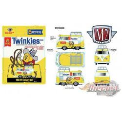 1960 Volkswagen Delivery Van Custom Short Wheelbase Twinkies Hostess  - M2 Machines 1:64 - 31500-HS13 - Passion  Diecast