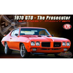 1970 Pontiac GTO Street Fighter - The Prosecutor  -  ACME 1/18  A1801214 - Passion Diecast