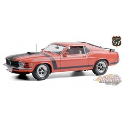1970 Ford Mustang BOSS 302 Fastback - Barrett-Jackson Scottsdale 2019 -  (Lot 790)  1/18 HWY 61 - 18030 - Passion Diecast