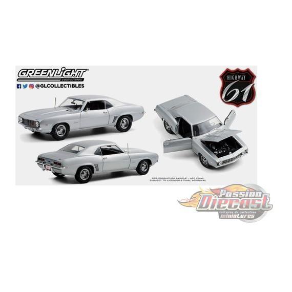 1969 Chevrolet Camaro ZL1 Coupe - SilverBarrett-Jackson Scottsdale 2012 - (Lot 5010) - HWY 61-1/18 - 18029 - Passion Diecast