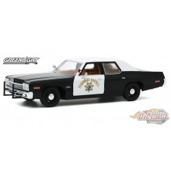 1974 Dodge Monaco - California Highway Patrol -  Greenlight 1/24 ,  85511  - Passion Diecast