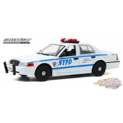 2011 Ford Crown Victoria Police New York City Police Dept (NYPD) - Greenlight 1/24 - 85513 -  Passion Diecast